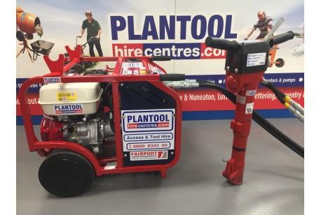 Hydraulic Breaker at Plantool Hire Centres