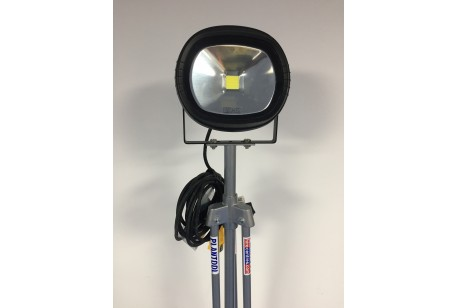 Light - 30w LED Floodlight on Stand at Plantool Hire Centres