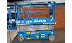 Scissorlift - Genie 2646 7.9m (26ft) Platform
