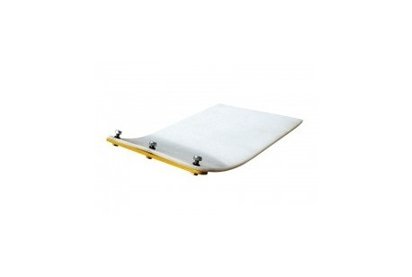 """Compaction Plate - Rubber Base Pad - 320mm (12.5"""")"""