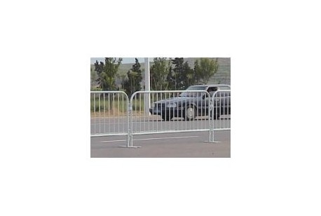 Fencing - Steel Pedestrian Barrier 2.3m Section at Plantool Hire Centres