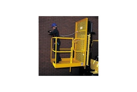 Forklift Access Cage at Hirecentres