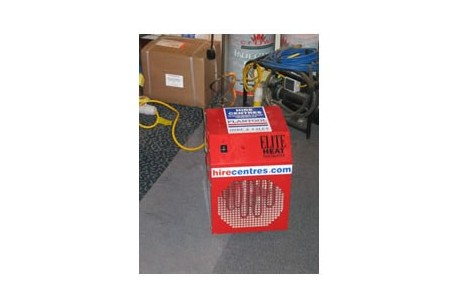 Heater - 3kw Industrial Electric Blower Heater at Plantool Hire Centres