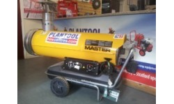 Heater - Indirect Oil Fired Blower 47kw (160,400btu) at Plantool Hire Centres
