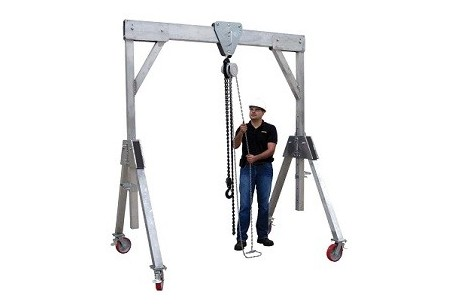 Mobile Gantry - 2 Tonne Lifting Capacity at Plantool Hire Centres