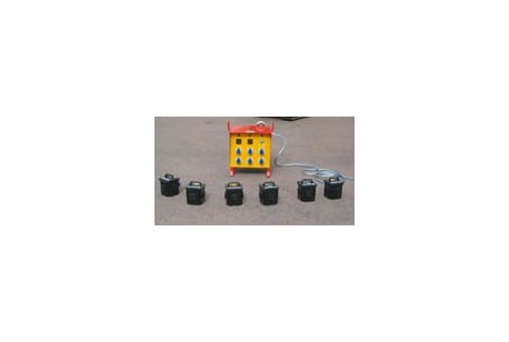 Distribution Box - 13amp Satellite Dimmer at Plantool Hire Centres