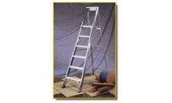 "Step Ladder - 6 Tread, 4ft 9"" Open"