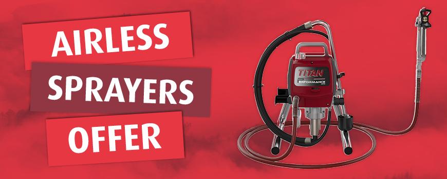 Airless Sprayer Offer