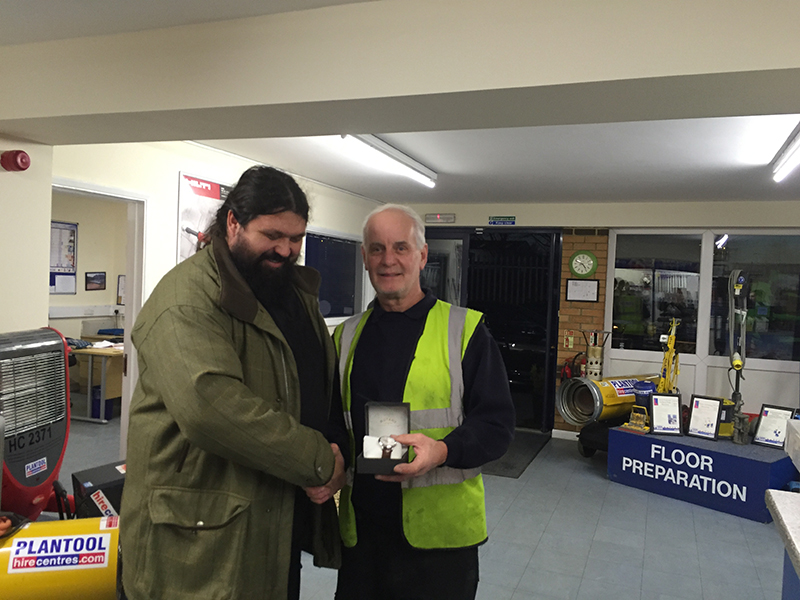 Brian retires from Plantool