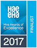 HAE Hire Awards of Excellence 2017 Finalist